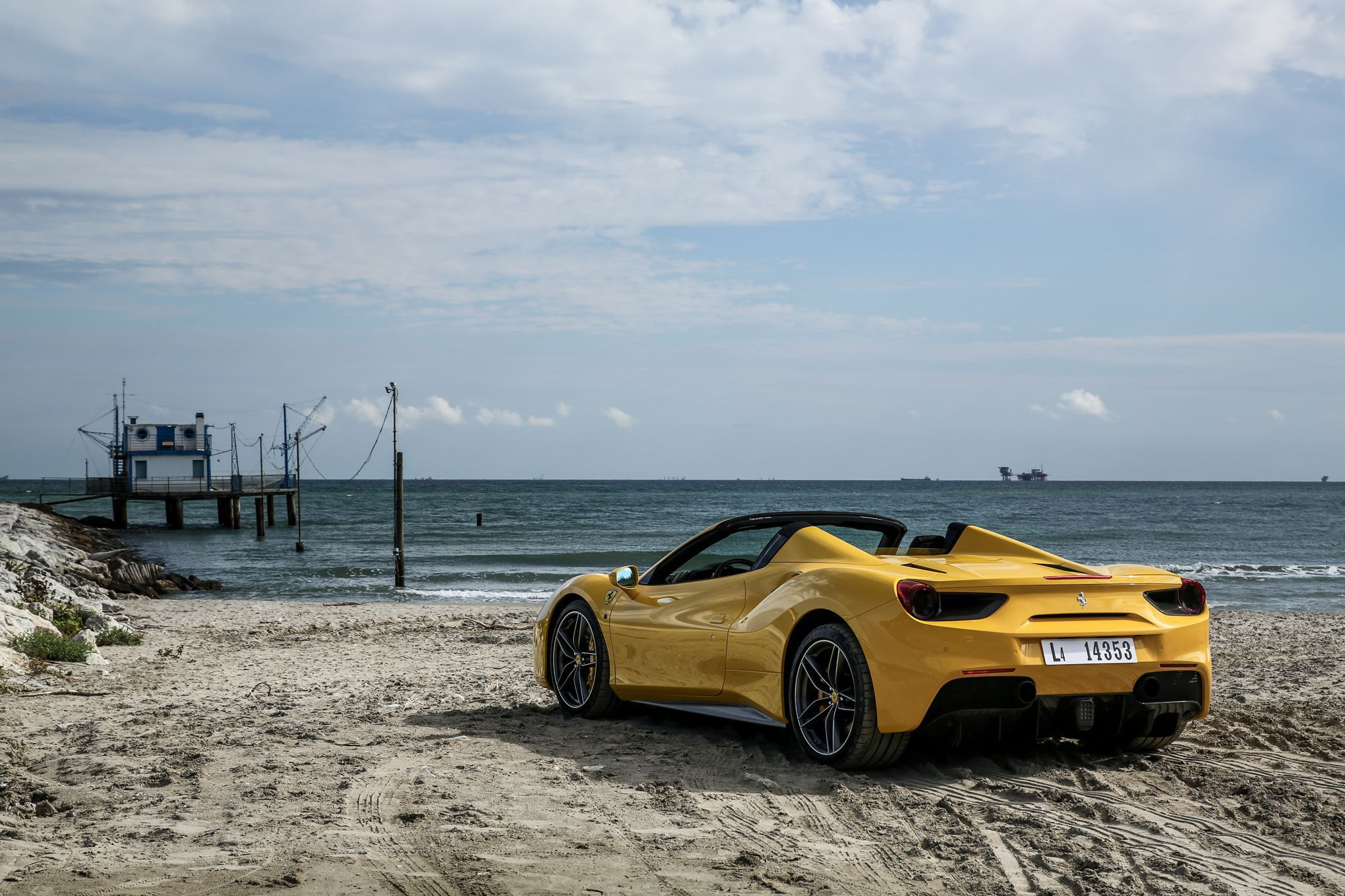 Ferrari 488 Spider High Quality Wallpapers