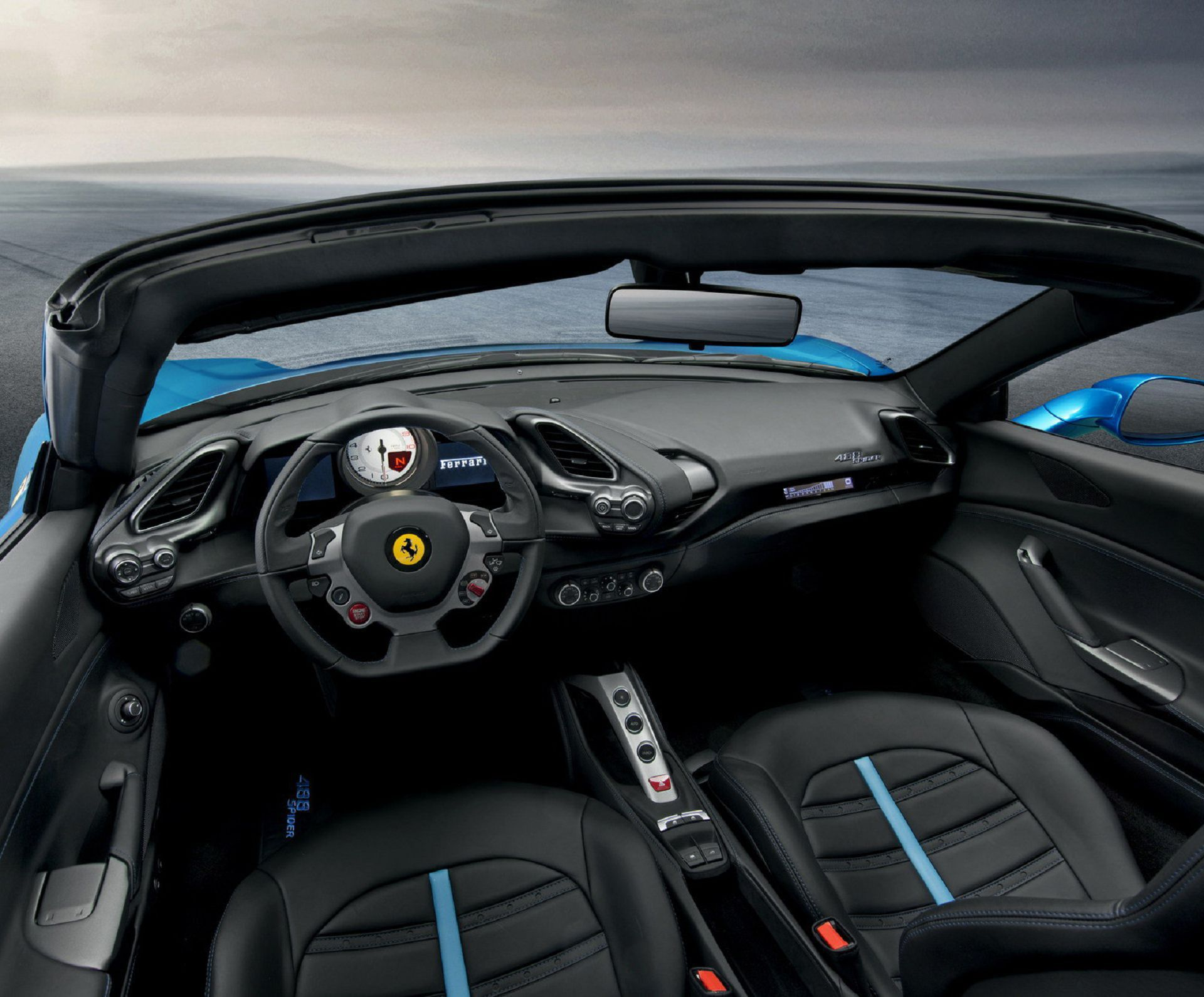 Ferrari 488 Spider Wallpaper