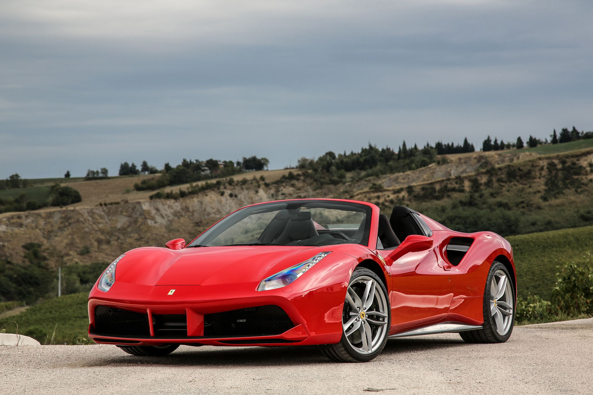 Ferrari 488 Spider Widescreen