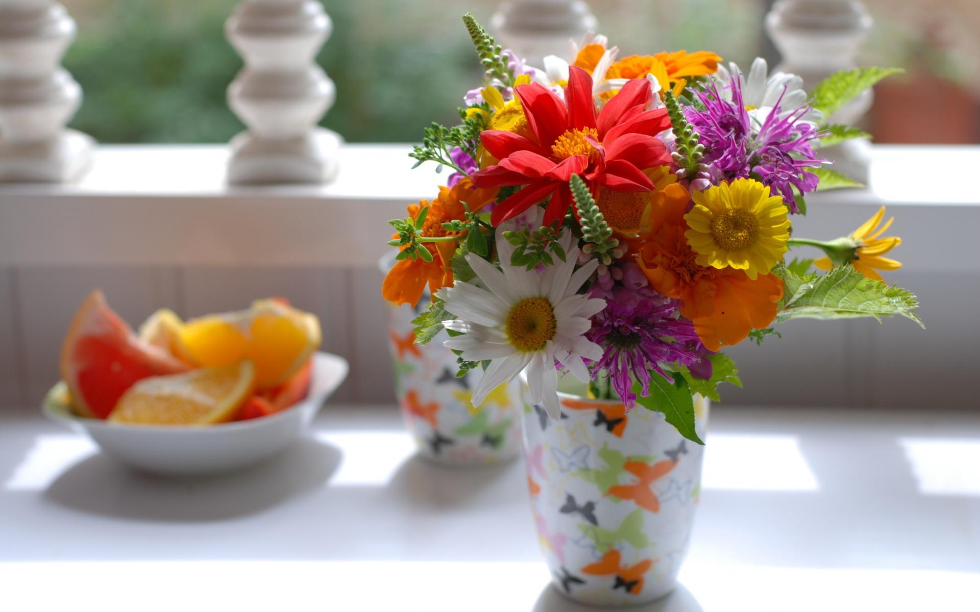 Flower Bouquet Computer Wallpaper