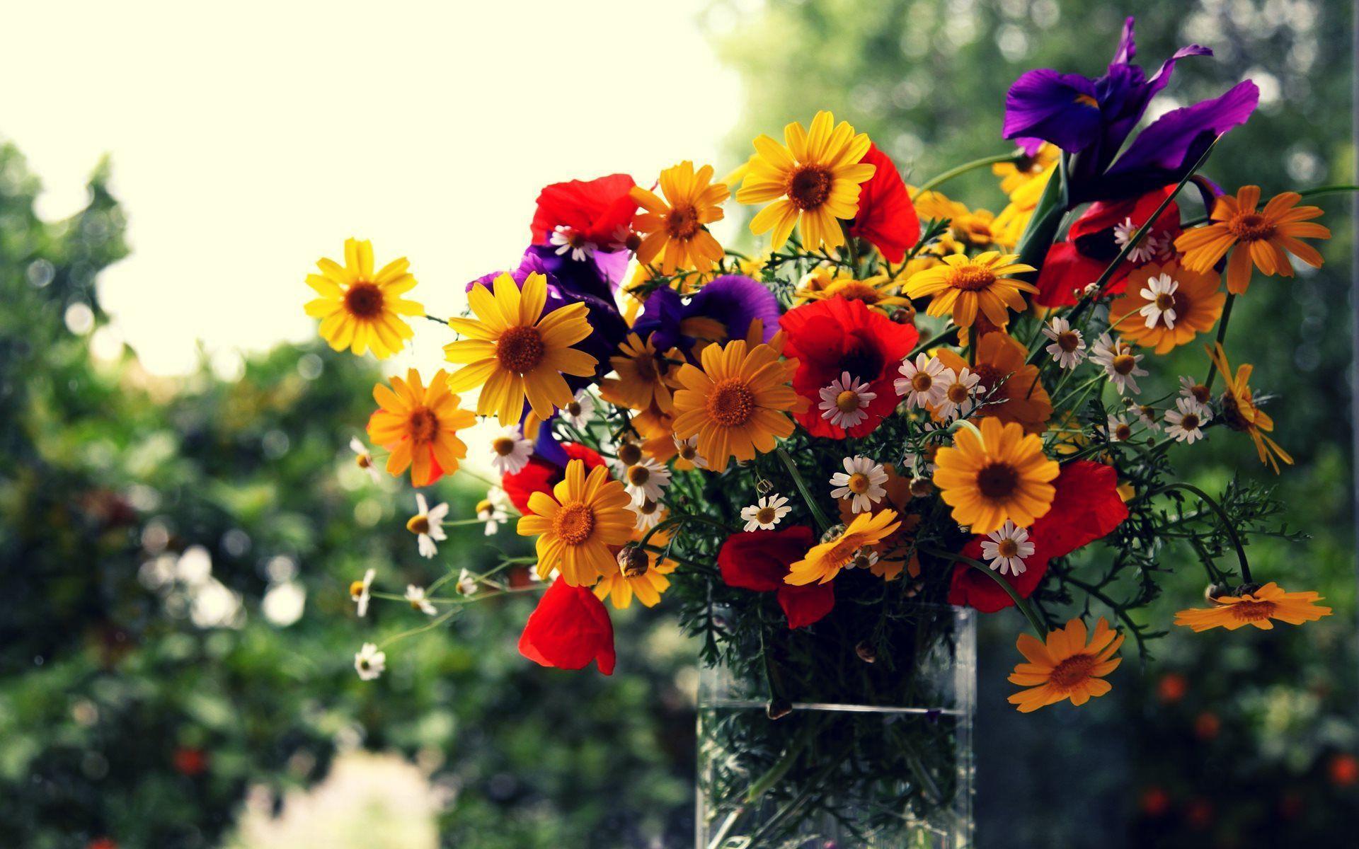 Flower Bouquet Hd Background