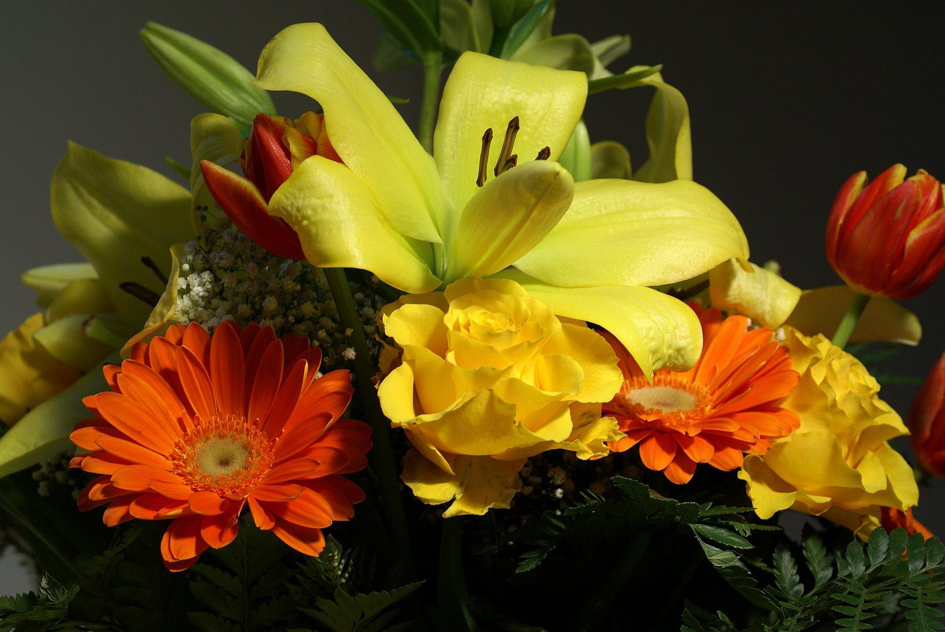 Flower Bouquet Hd Desktop