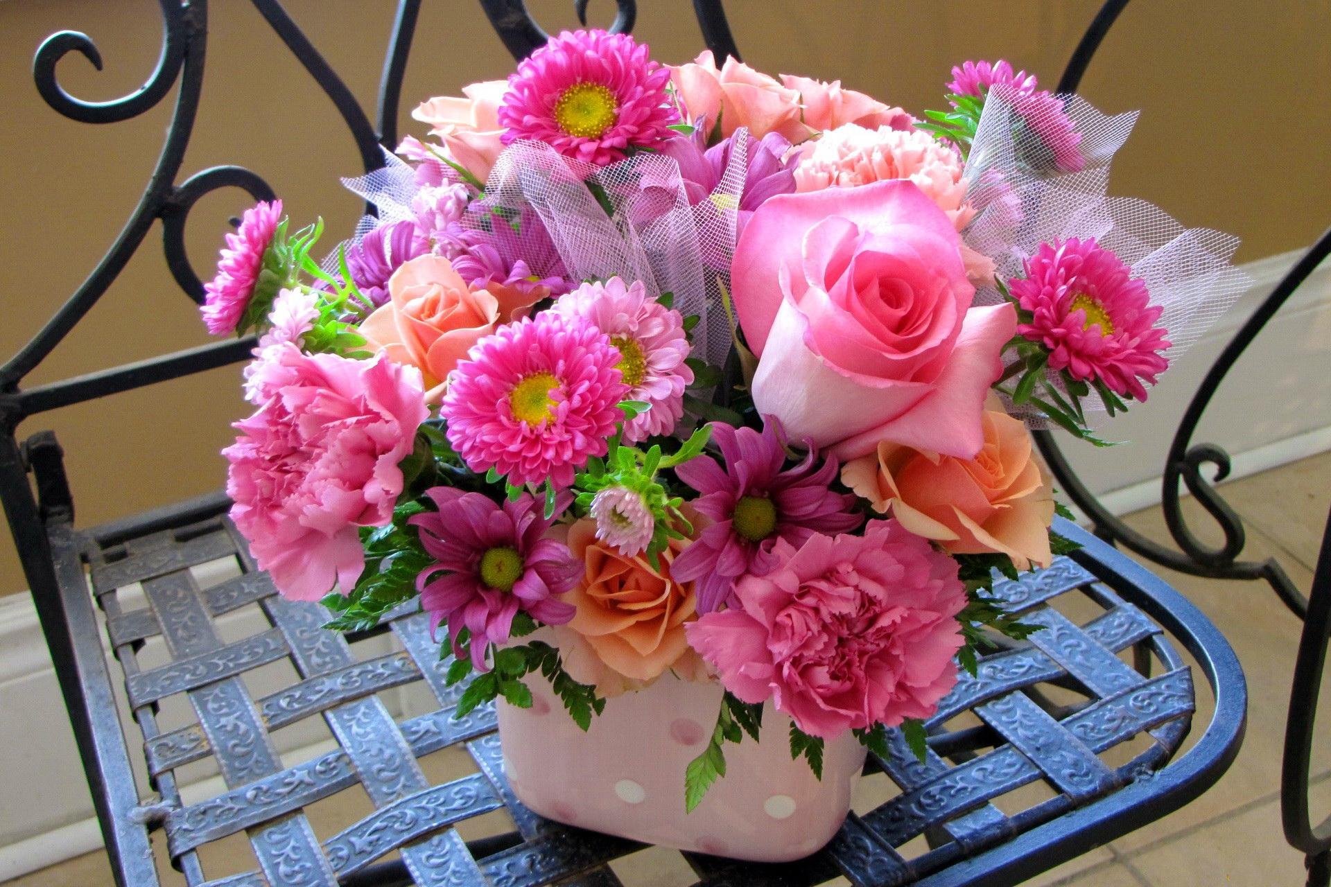 Flower Bouquet Widescreen