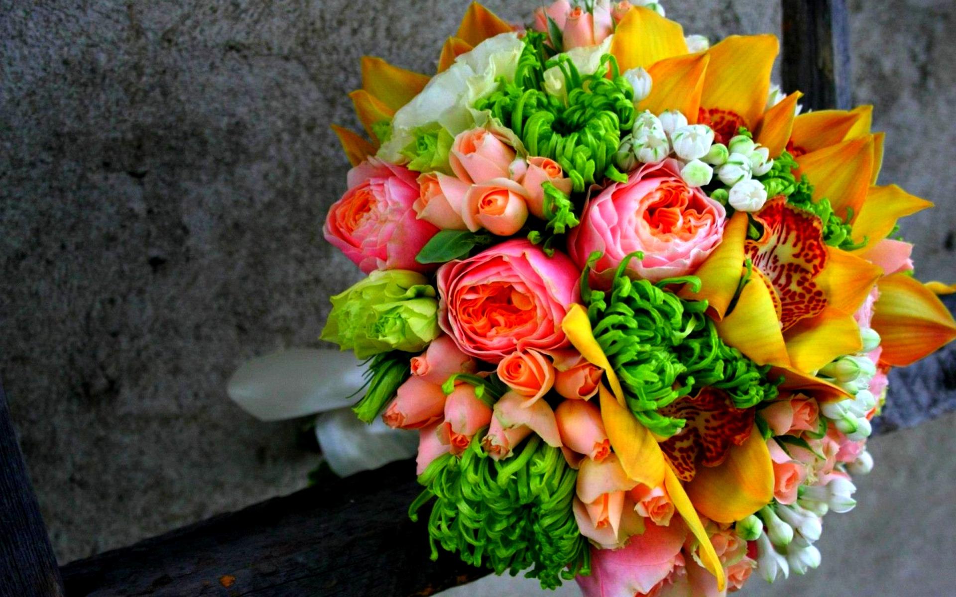Flower Bouquet Full Hd
