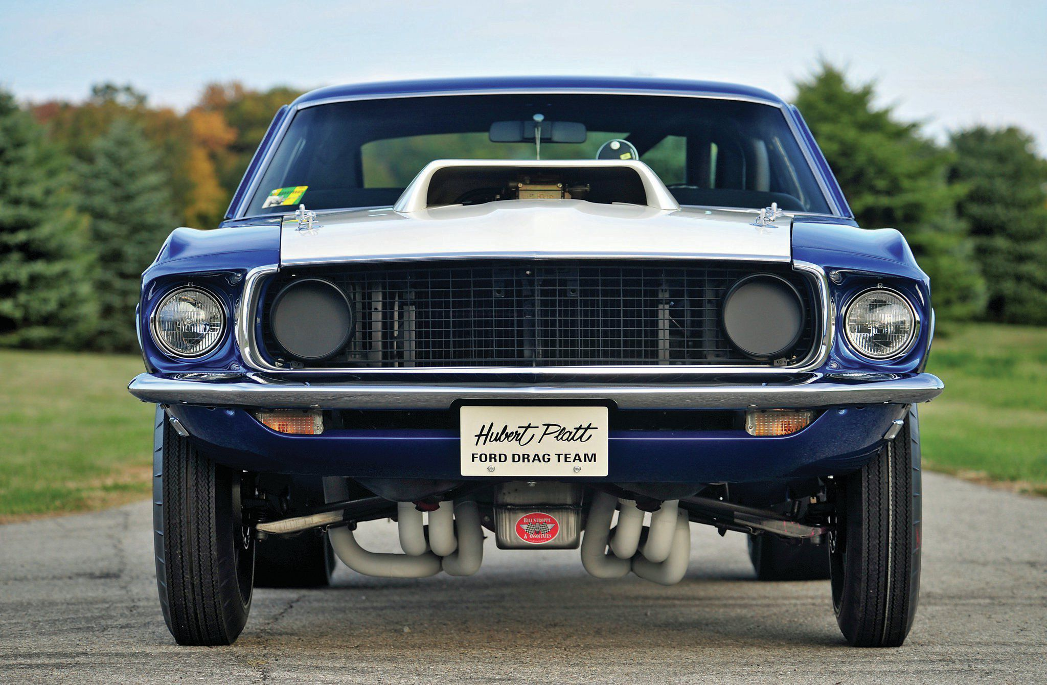Ford Mustang Widescreen
