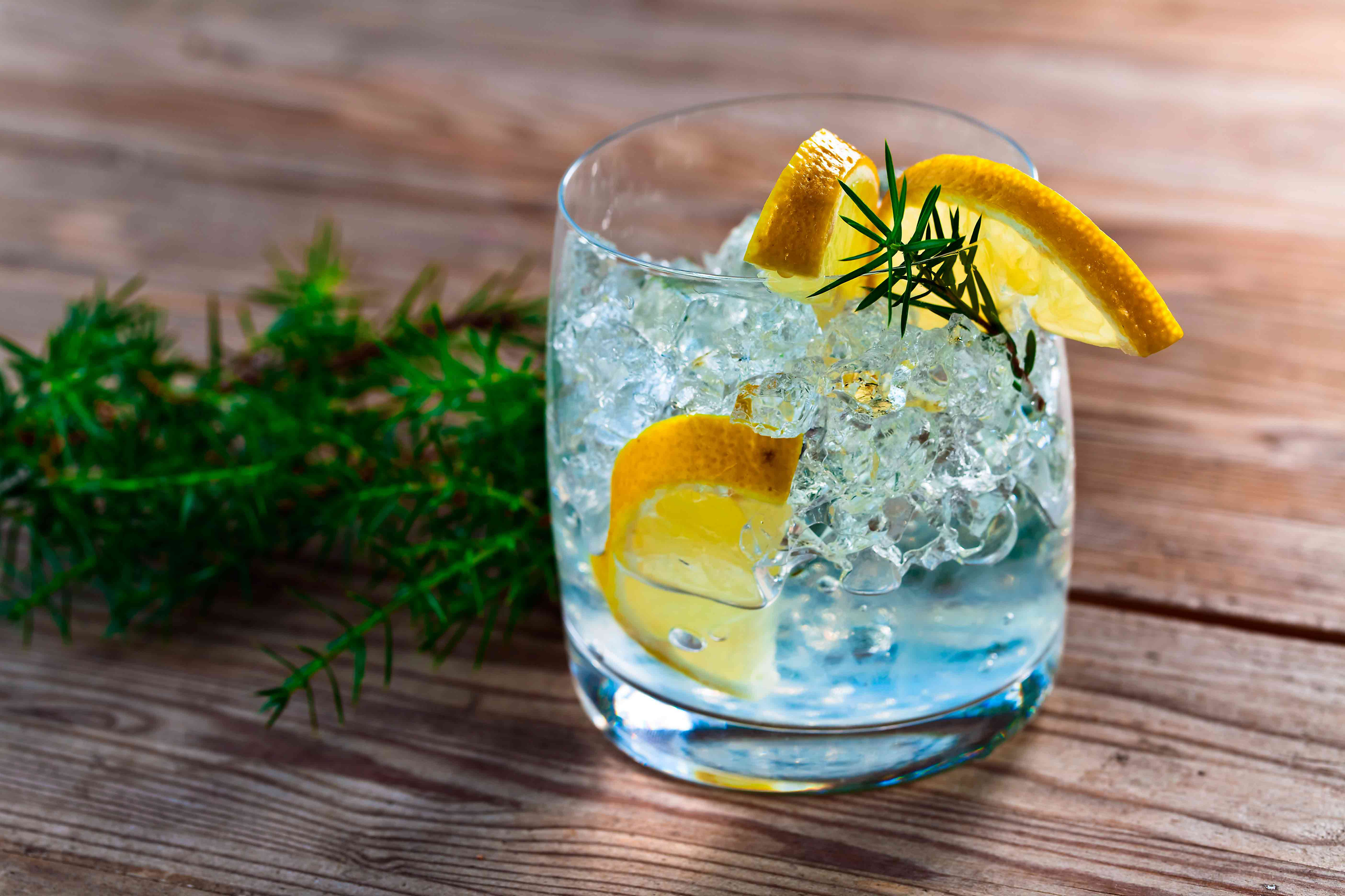 Gin And Tonic Background
