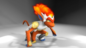 Infernape For Desktop