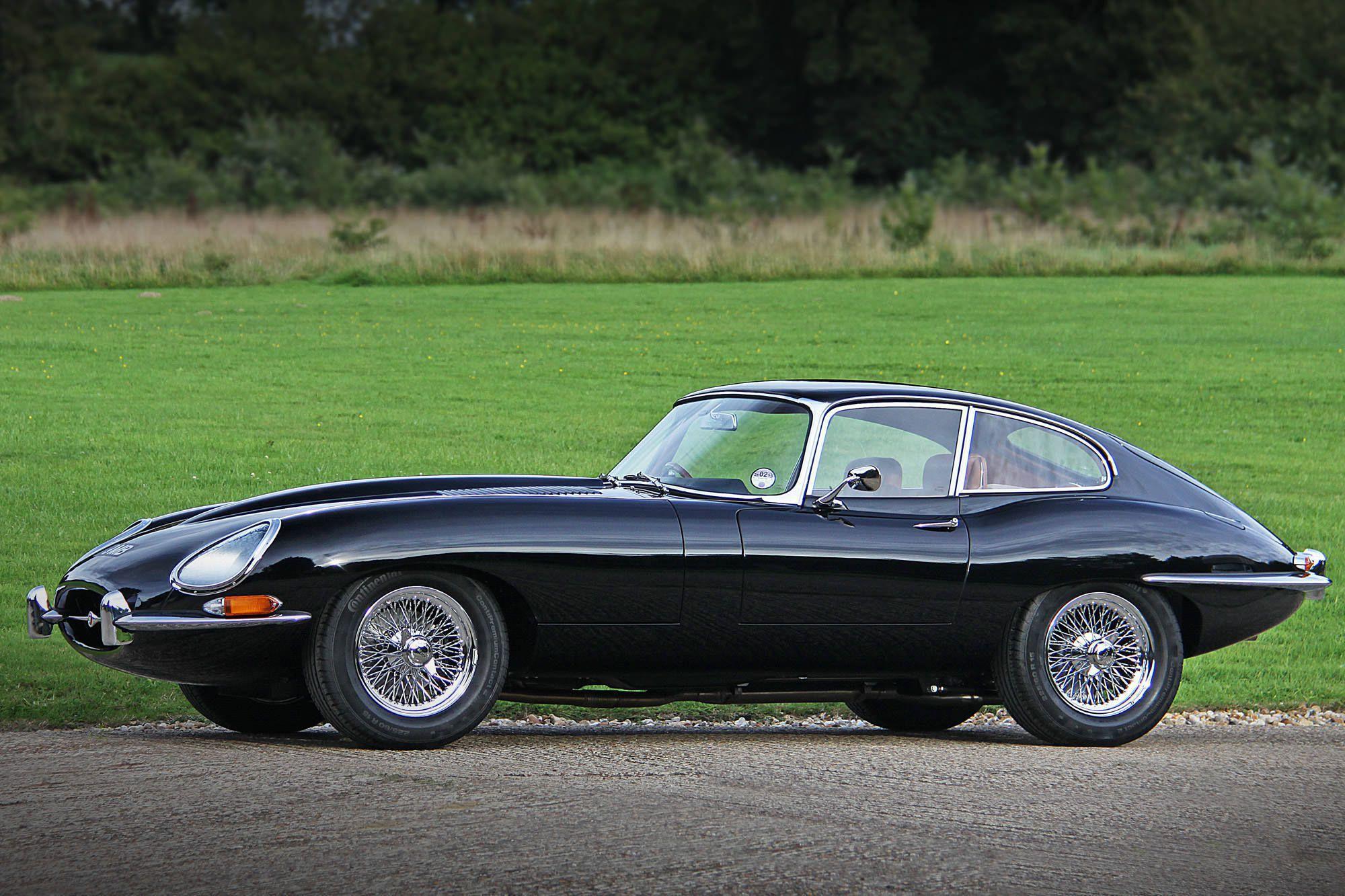Jaguar E Type Background