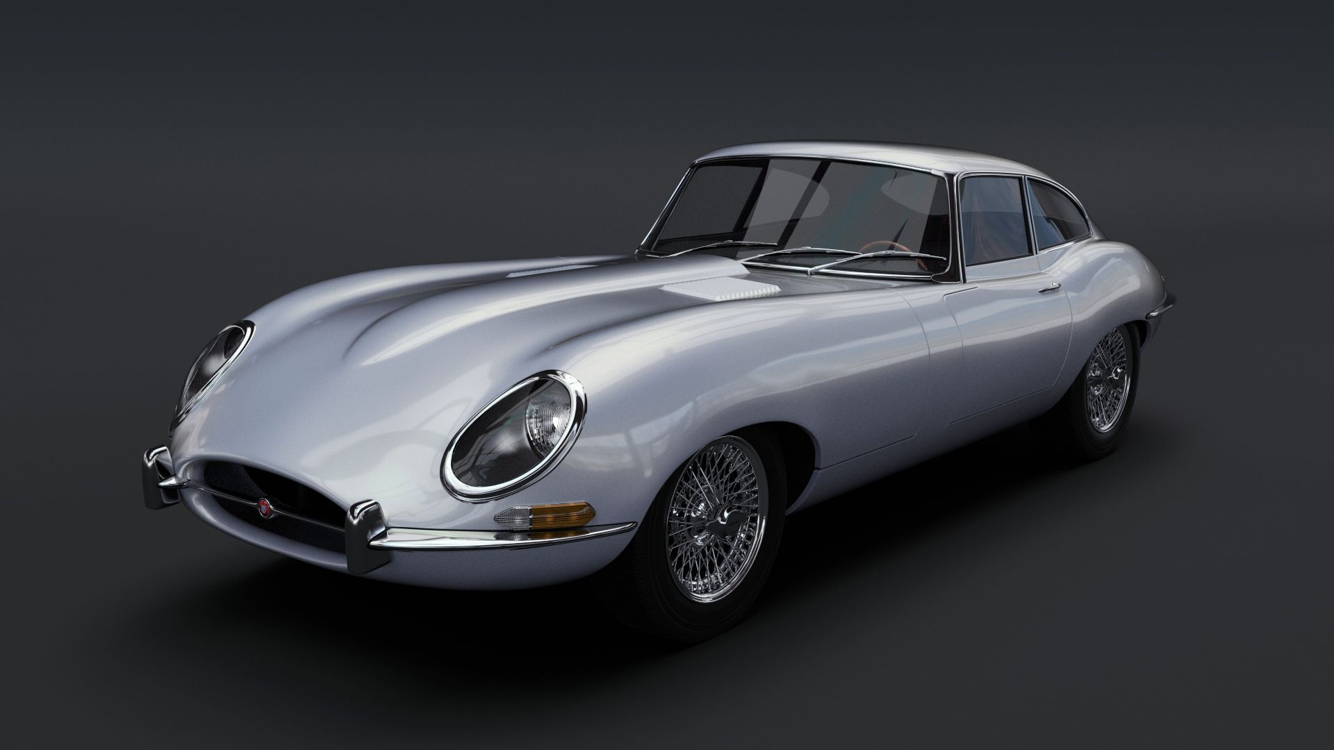 Jaguar E Type Hd Background