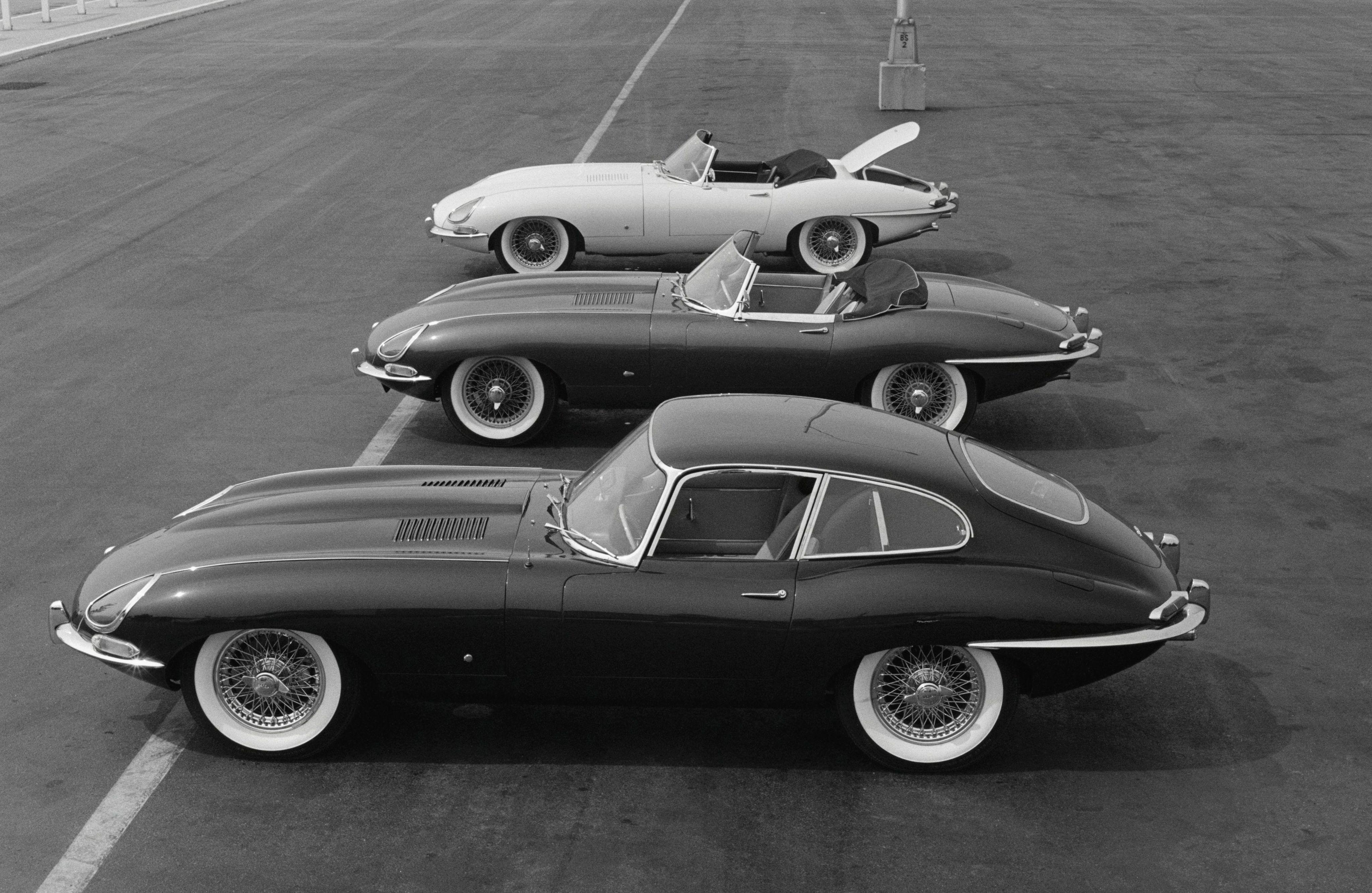 Jaguar E Type High Definition
