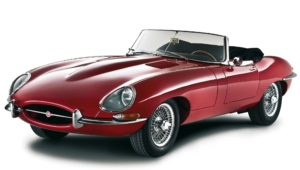 Jaguar E Type Widescreen