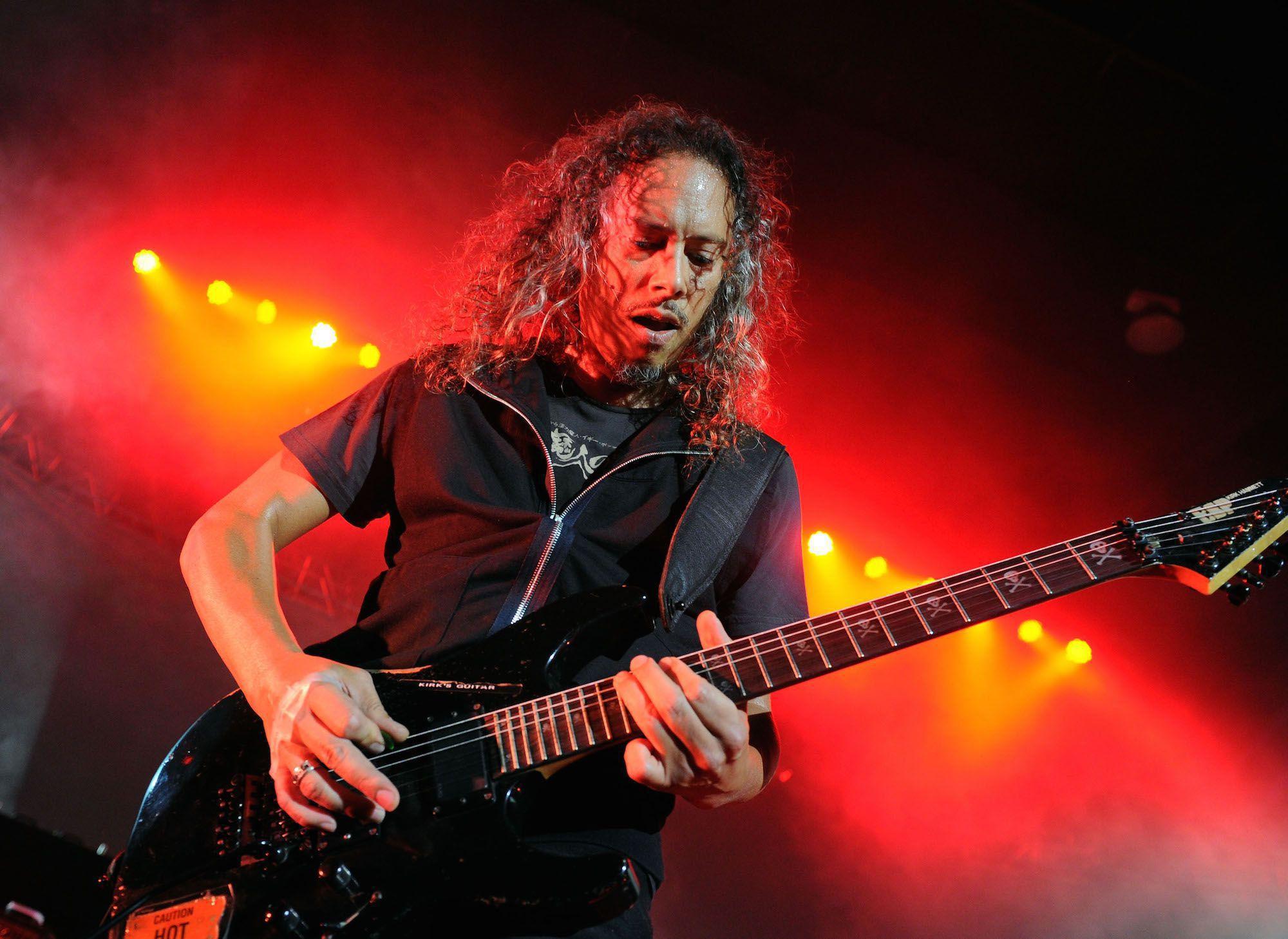 Kirk Hammett Photos