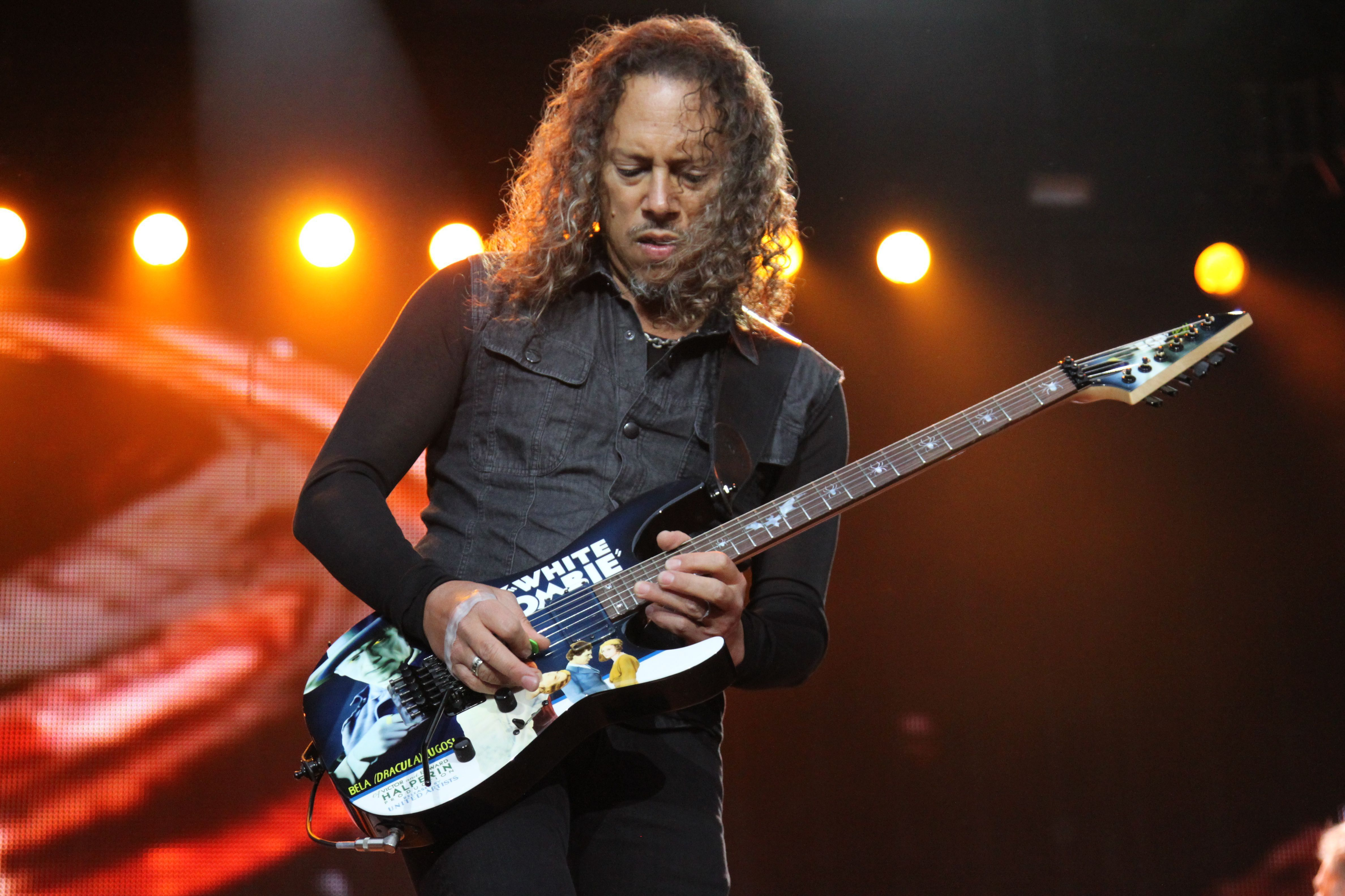 Kirk Hammett Wallpaper