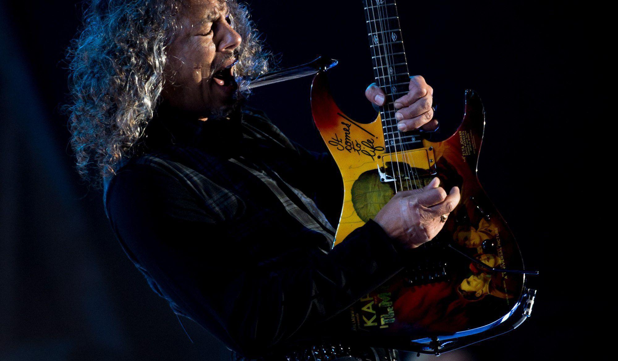 Kirk Hammett Widescreen