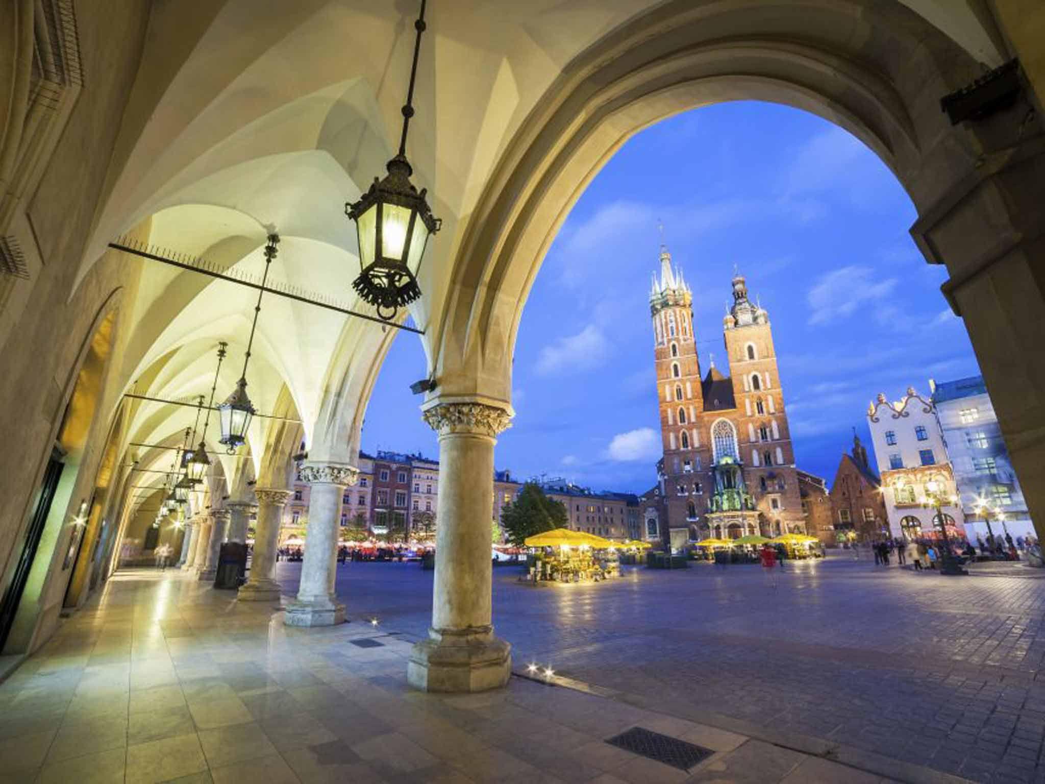 Krakow Hd Background