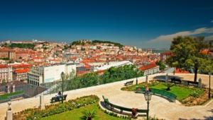 Lisbon Hd Background