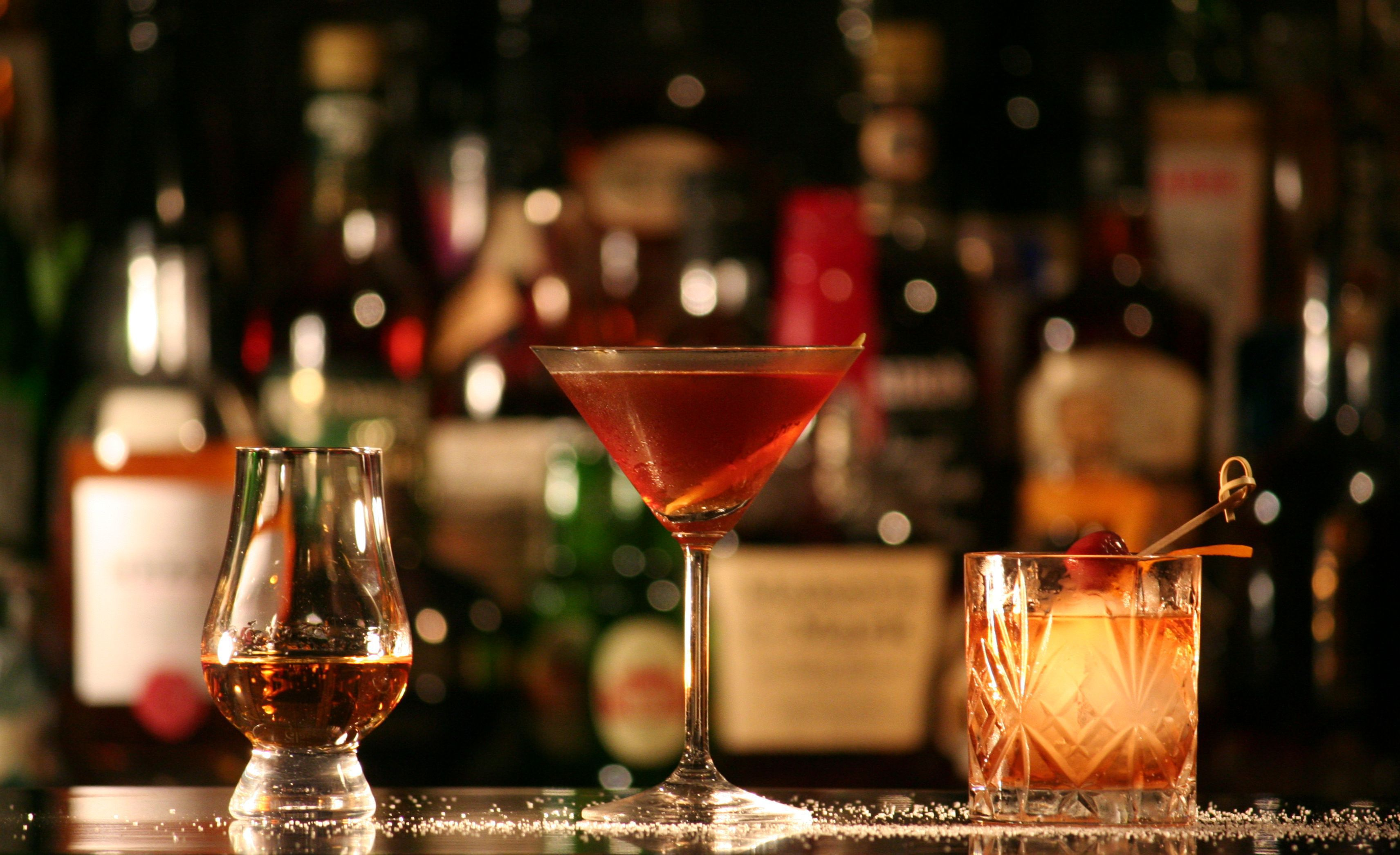 Manhattan Cocktail High Quality Wallpapers