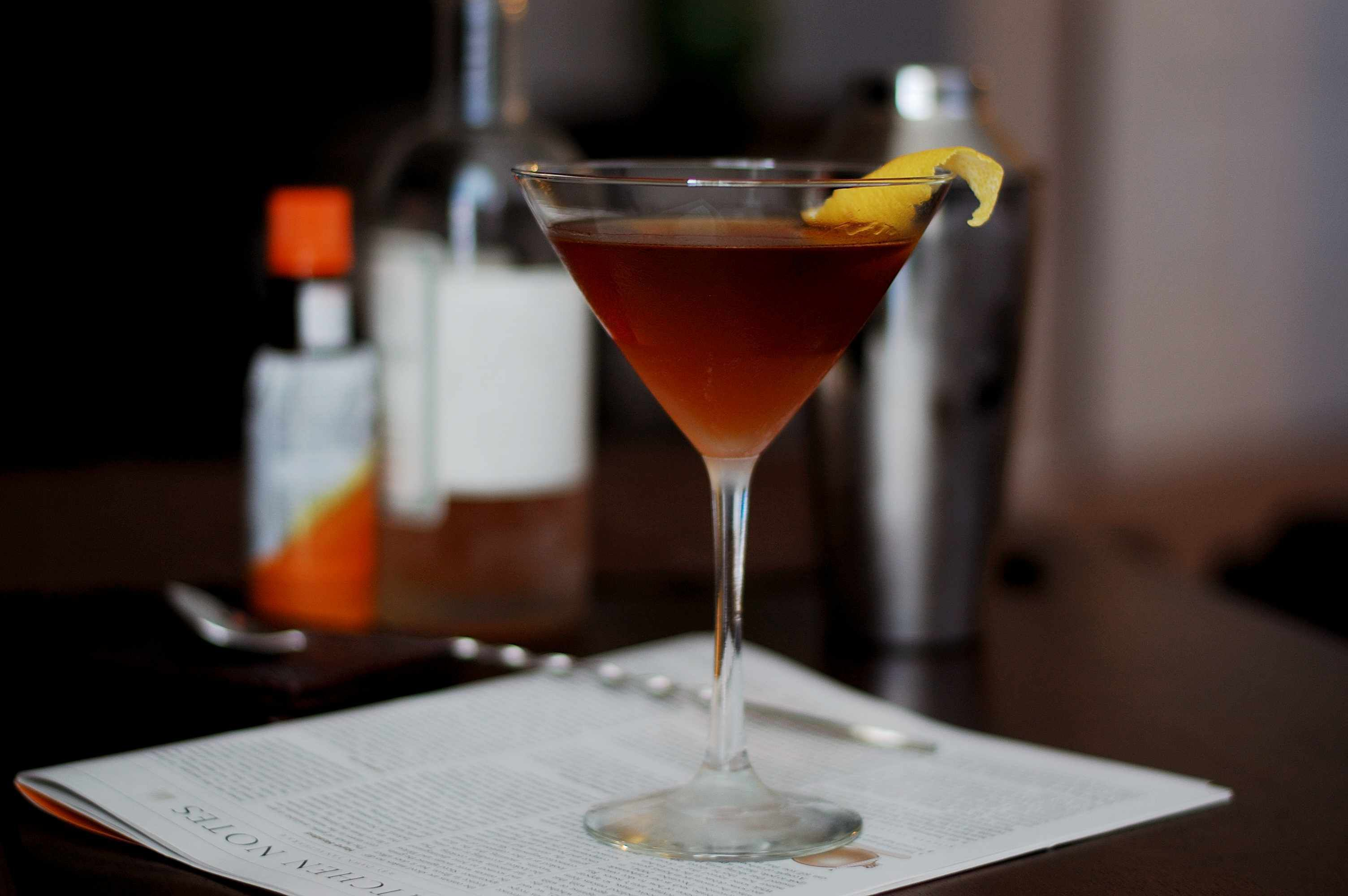 Manhattan Cocktail Pictures