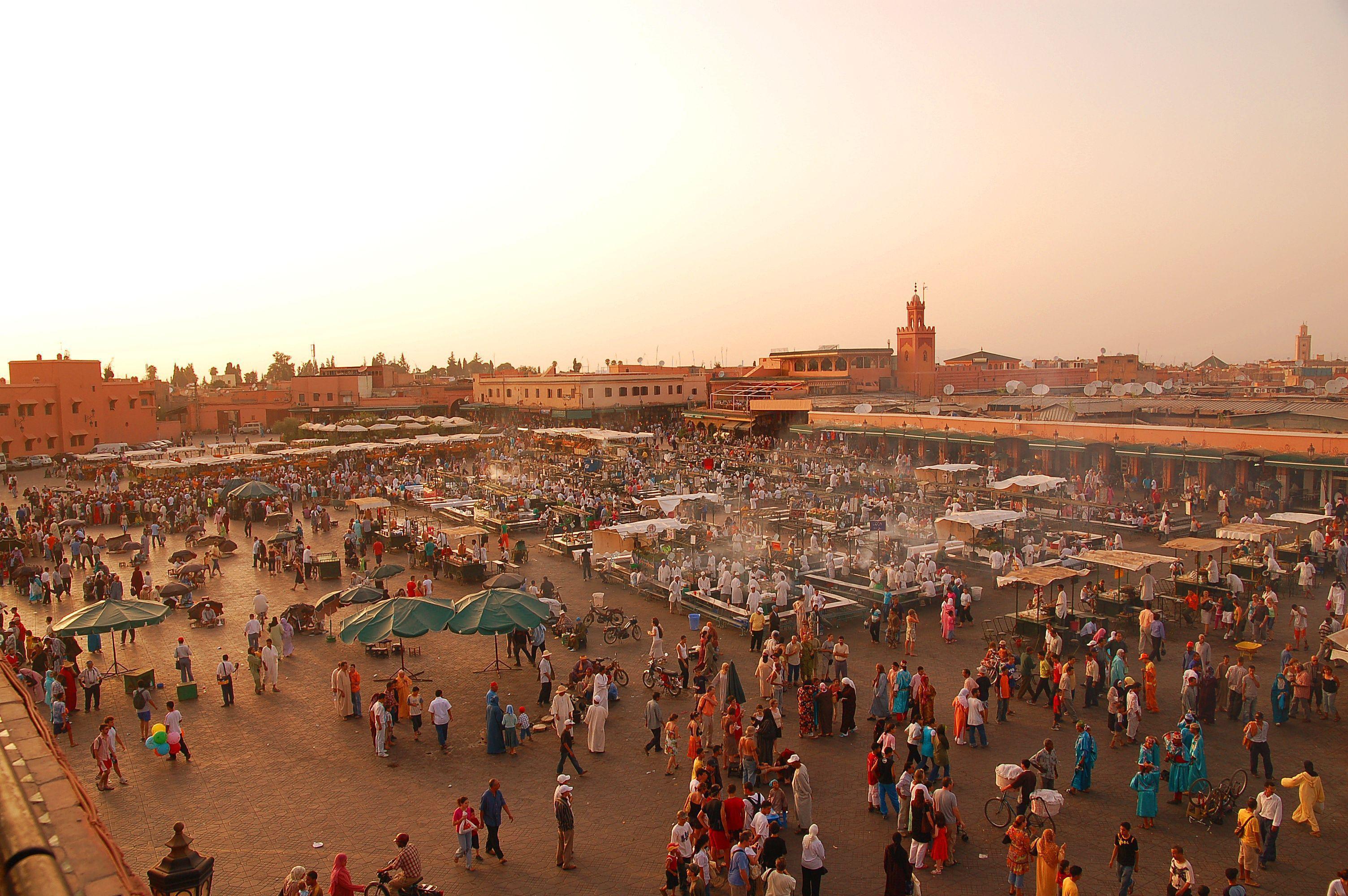 Marrakech Hd Background