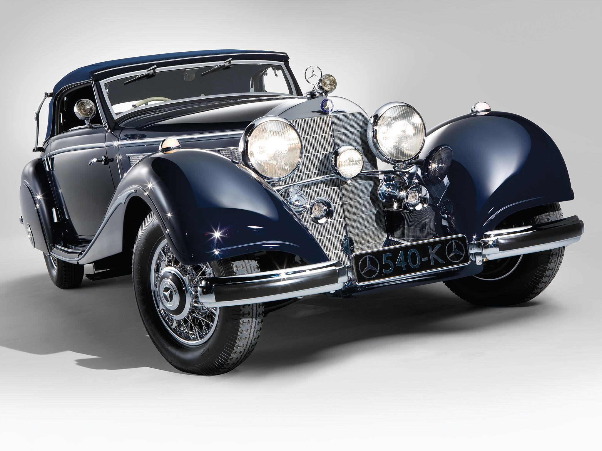 Mercedes Benz 540k High Quality Wallpapers