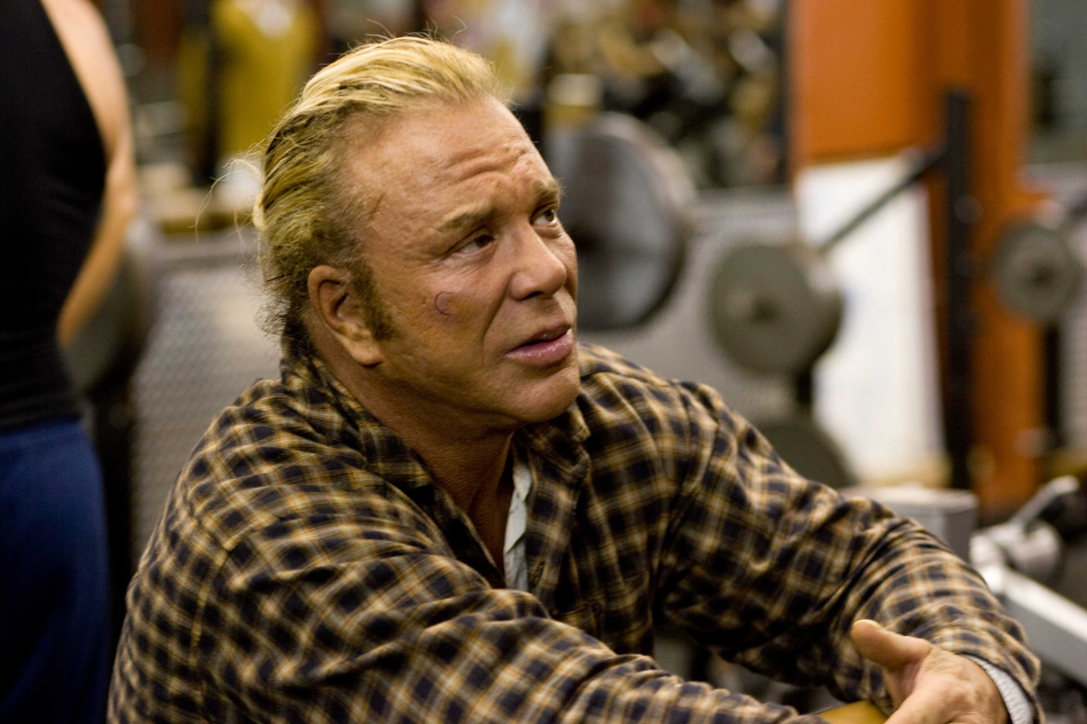 Mickey Rourke High Definition