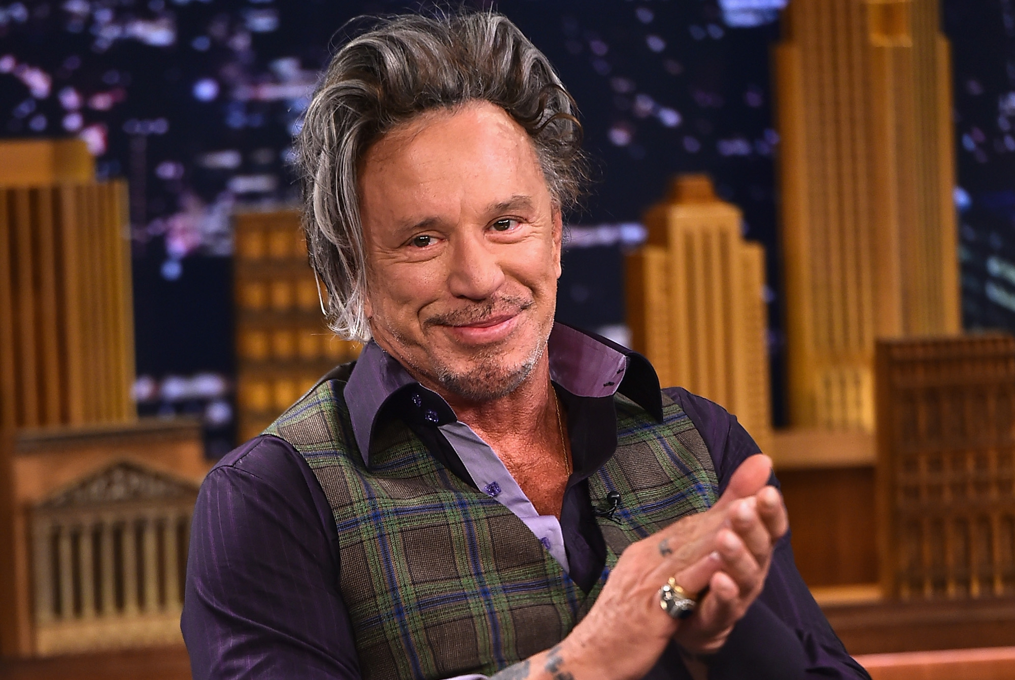 Mickey Rourke Pictures