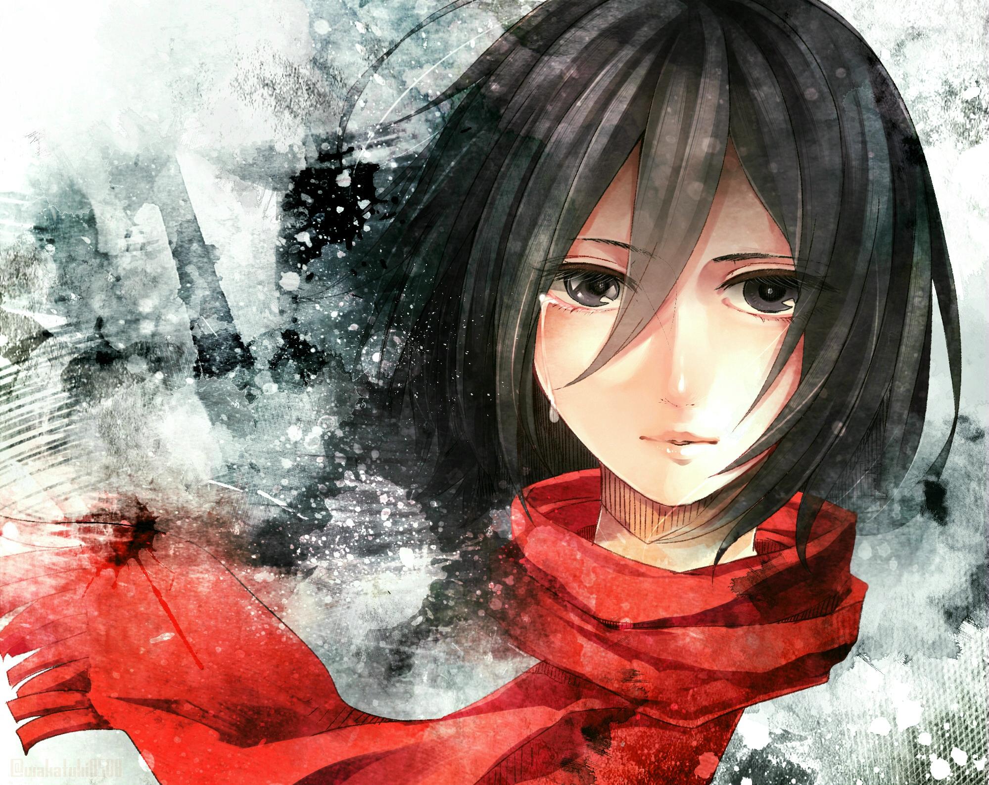 Mikasa Ackerman Wallpaper 3d Gambarku
