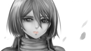 Mikasa Ackerman Computer Wallpaper