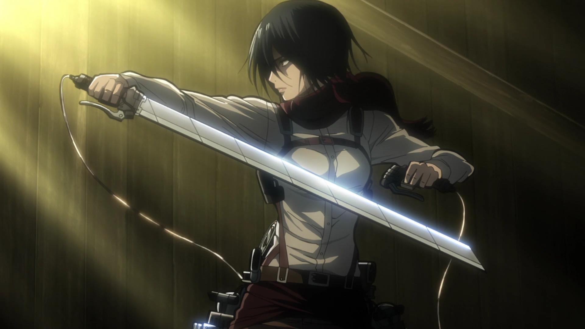 Mikasa Ackerman Hd Background