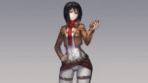 Mikasa Ackerman High Definition Wallpapers