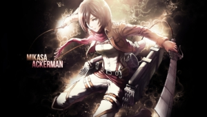 Mikasa Ackerman For Desktop