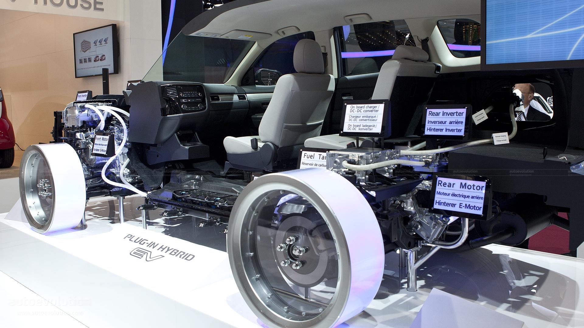 Mitsubishi Outlander Phev Full Hd