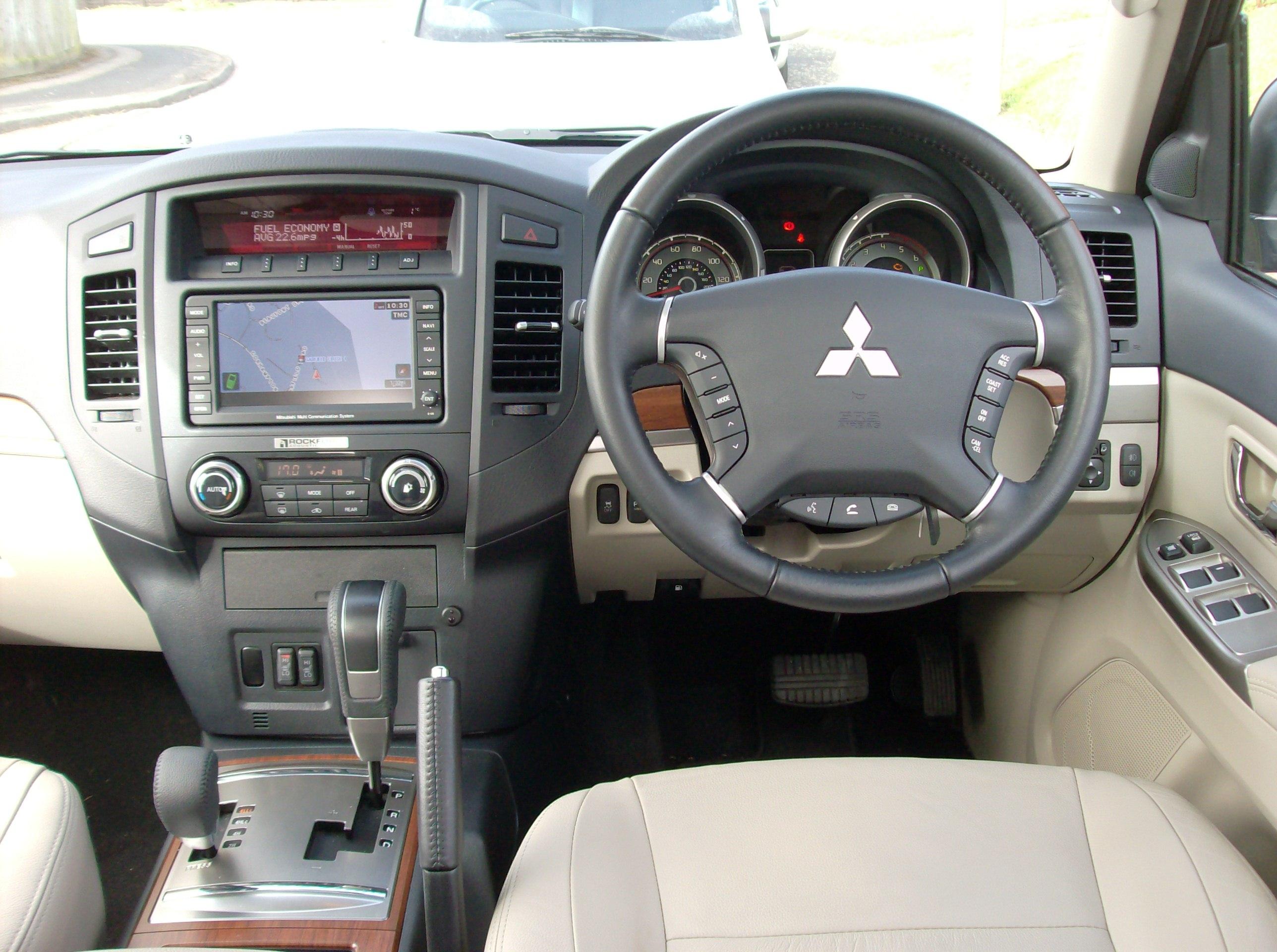 Mitsubishi Shogun Computer Backgrounds