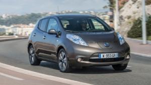 Nissan Leaf 4k