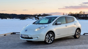 Nissan Leaf Background