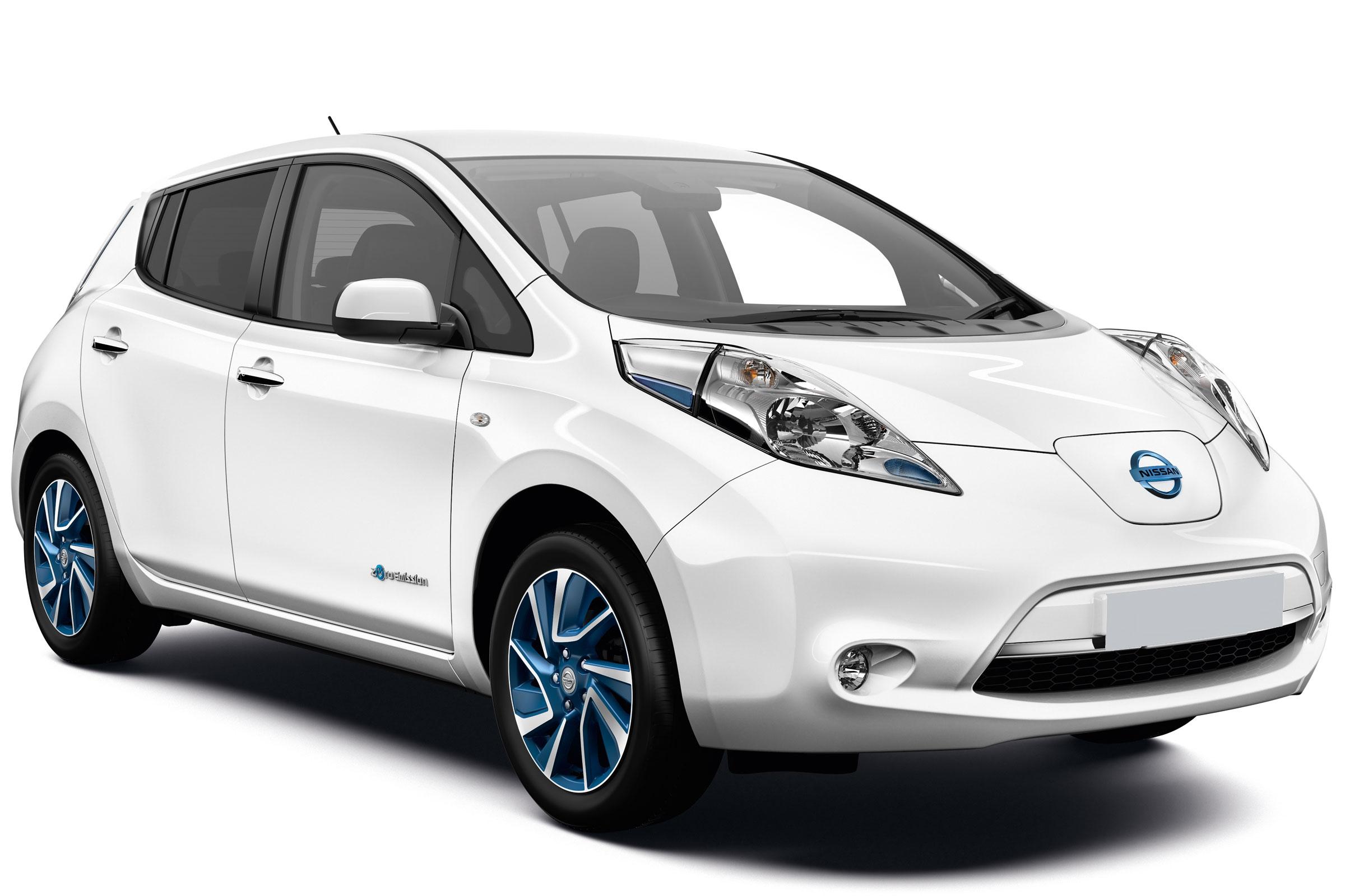 Nissan Leaf Hd Background