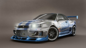Nissan Skyline Gt R Widescreen