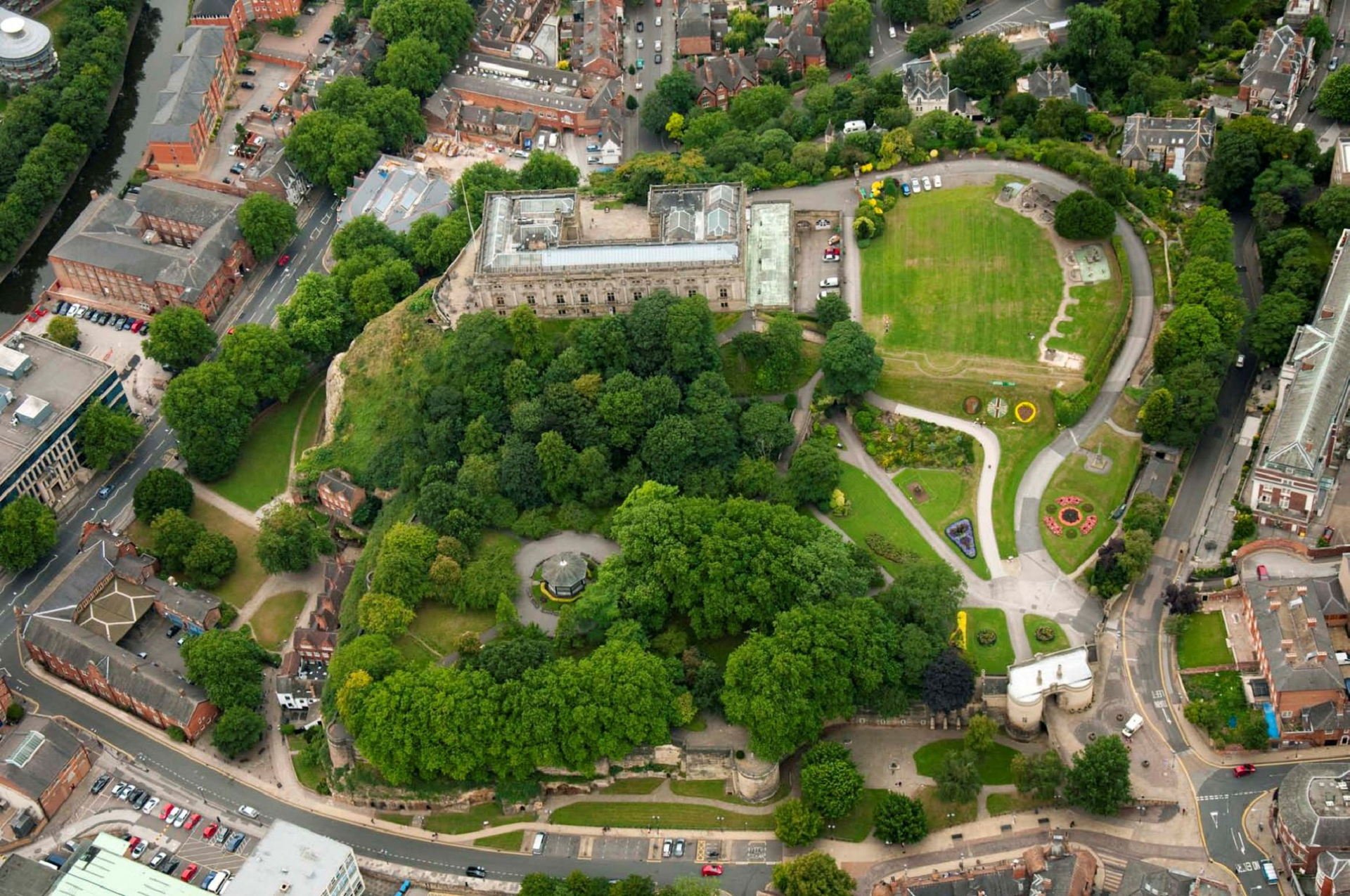 Nottingham Castle Wallpapers Hd