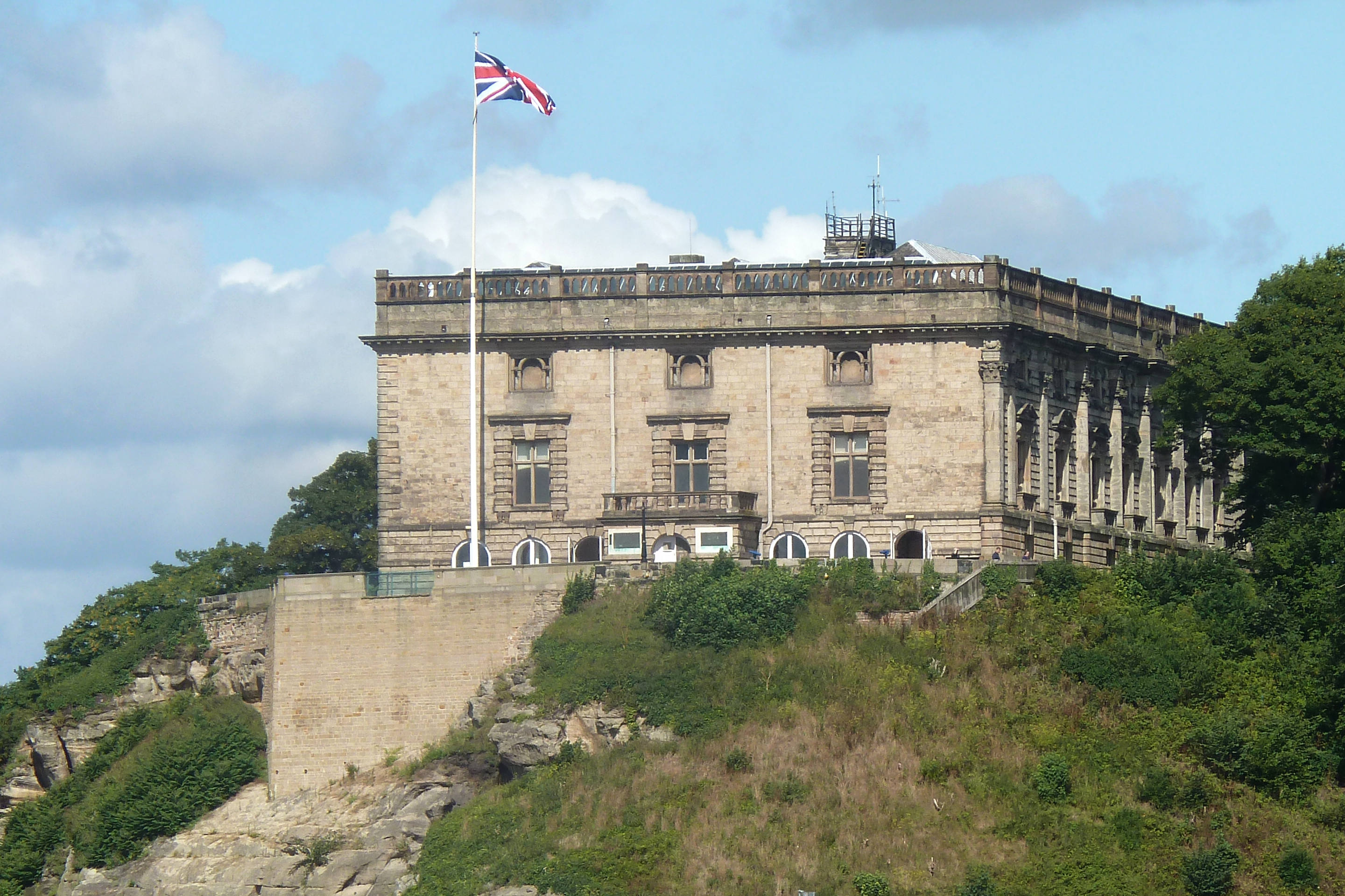 Nottingham Castle Widescreen