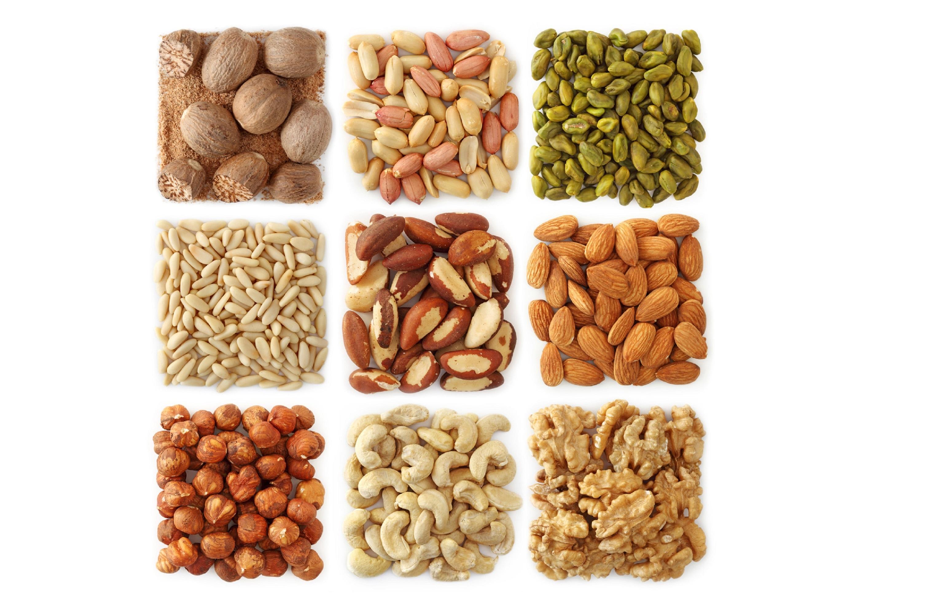 Nuts Hd Wallpaper