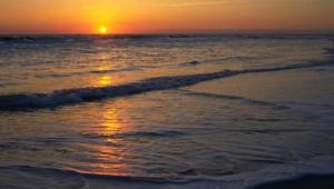 Ocean Sunset Computer Wallpaper