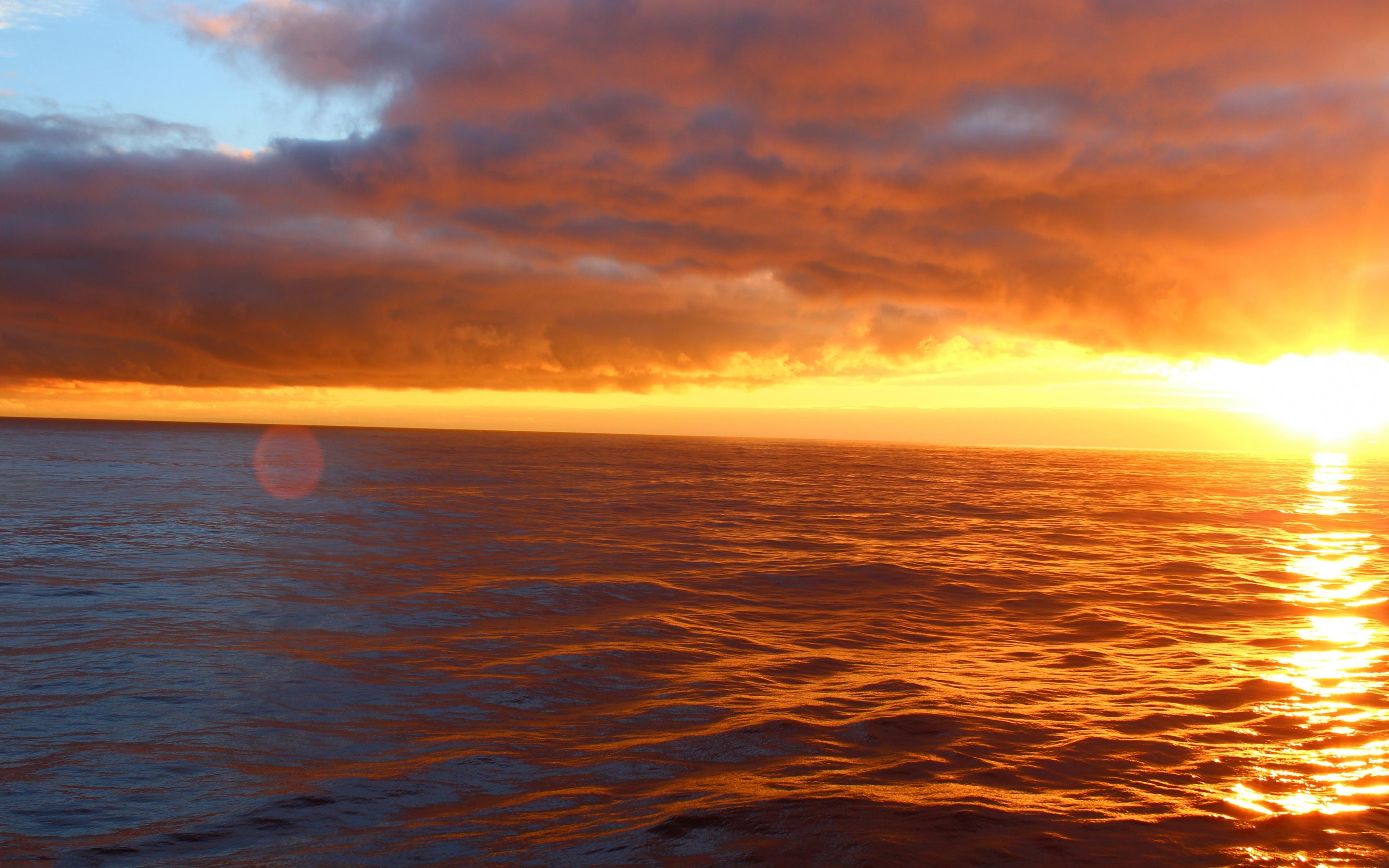 Ocean Sunset Desktop