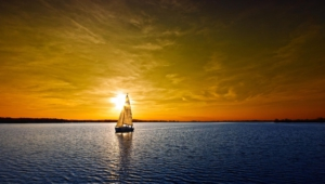 Ocean Sunset Hd