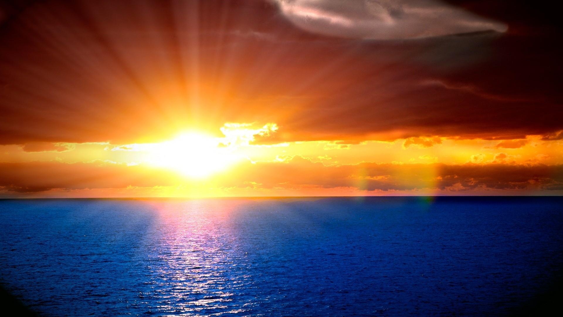 Ocean Sunset Wallpapers Hd