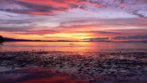 Ocean Sunset Widescreen