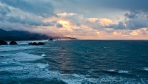 Ocean Sunset For Desktop
