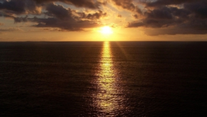 Ocean Sunset Full Hd