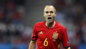 Pictures Of Andres Iniesta