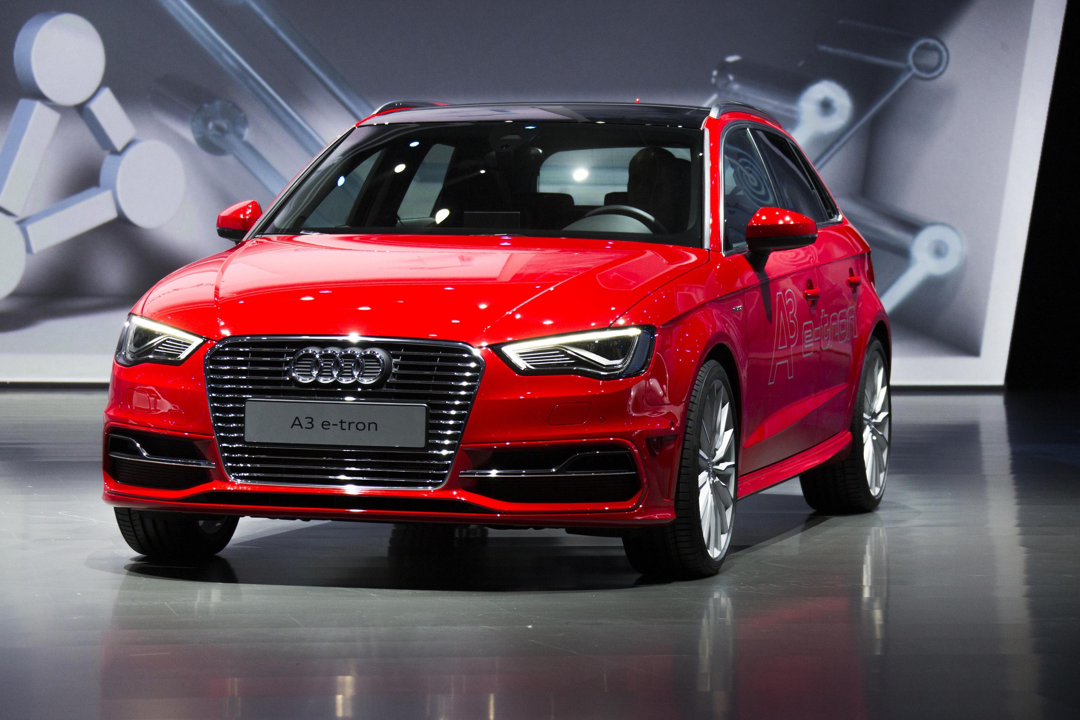 Pictures Of Audi A3 Sportback E Tron