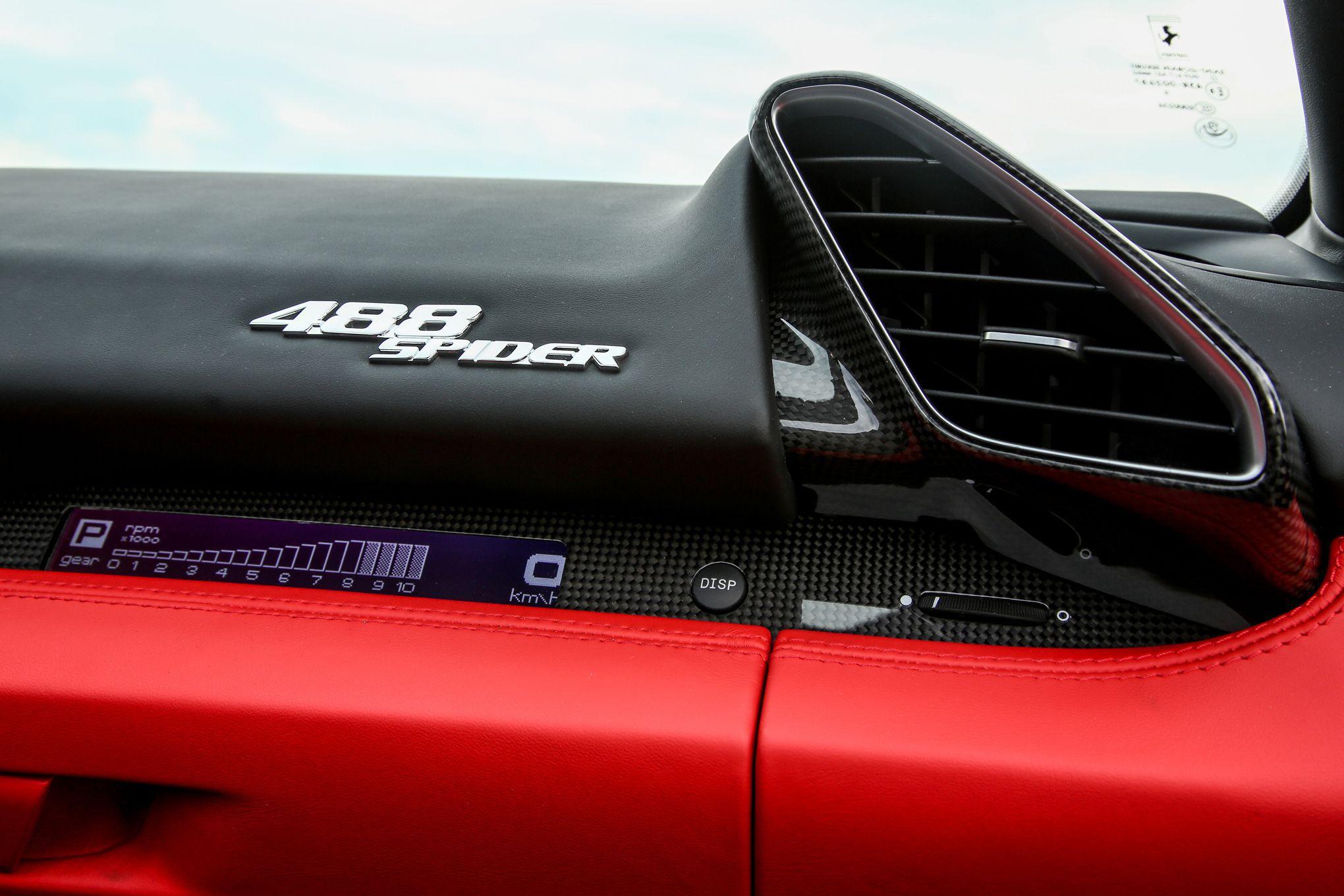 Pictures Of Ferrari 488 Spider
